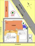 北駐車場(地図)